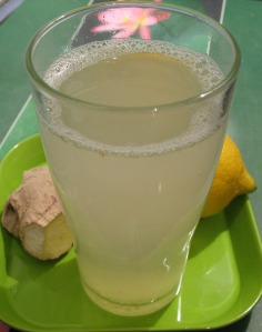 Boisson miel et citron